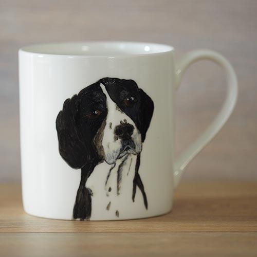 hand painted,personalise,dog,mug,plate