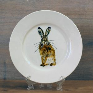hare,plate,6 inch,Elmley hare