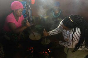 Cooking millet